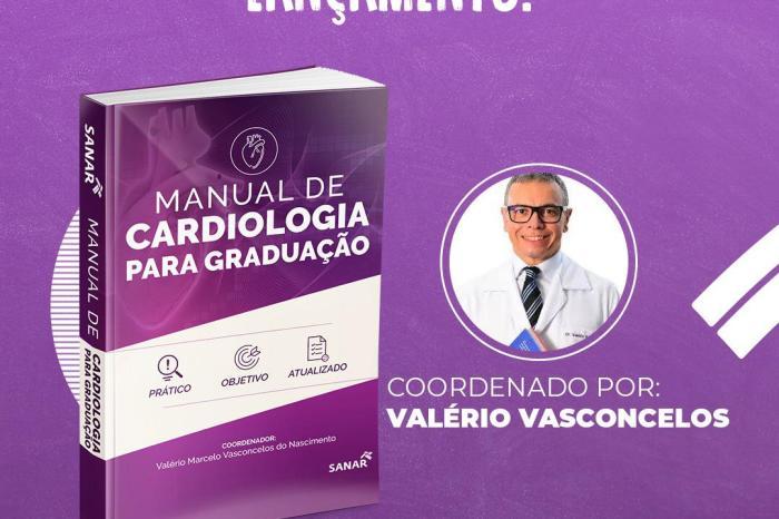 Manual de Cardiologia para Graduação será lançado em JP