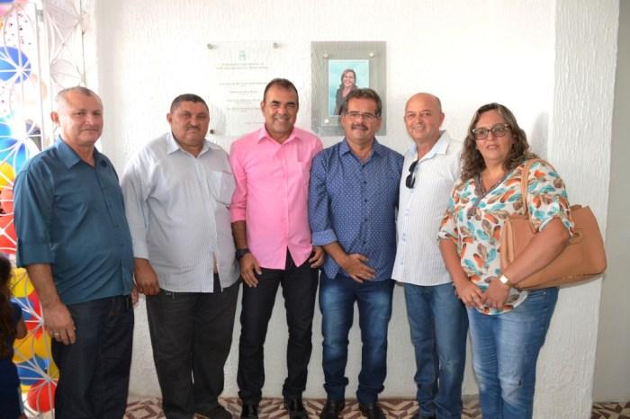 Vereadores prestigiam inauguração do novo Centro de Educação Infantil de Monteiro