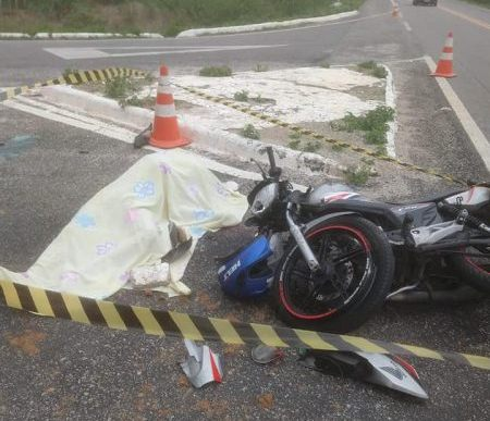Motorista causa acidente e foge sem prestar socorro, vítima fatal é jovem da cidade de Sumé
