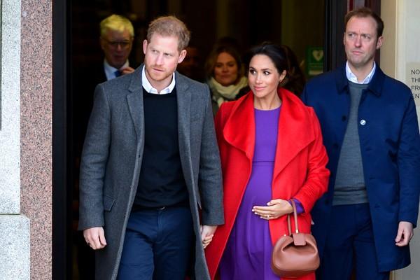 Apostadores britânicos especulam nome de bebê de Harry e Meghan