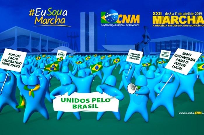 Prefeitos caririzeiros viajam à Brasilia para participar da XXII Marcha dos Prefeitos