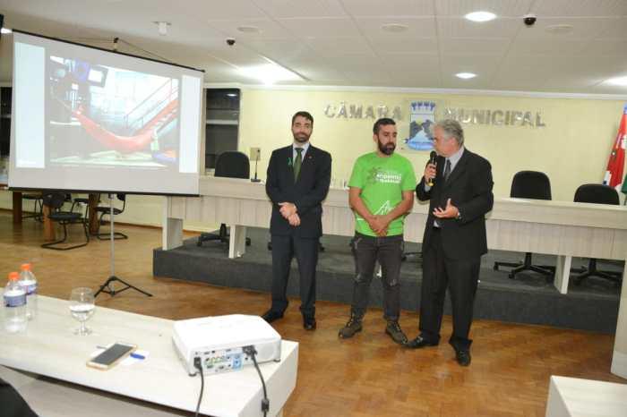 Câmara de Monteiro recebe visita do Procurador do MP do Trabalho durante evento