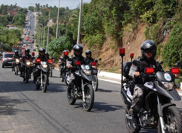 Governo da PB institui Batalhão de Policiamento com Motocicletas