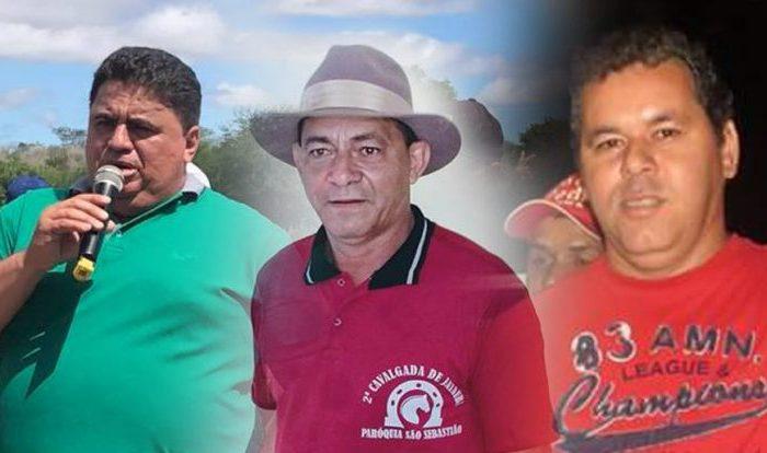Eleição 2020 em Caraúbas poderá ter disputa acirrada com três candidatos a prefeito