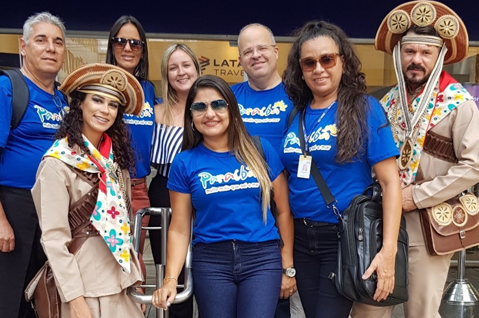 Latam Travel realiza ação em lojas para promover Paraíba