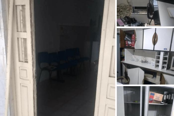 Delegacia de Polícia Civil de Juazeirinho é arrombada pela 4ª vez pelos criminosos
