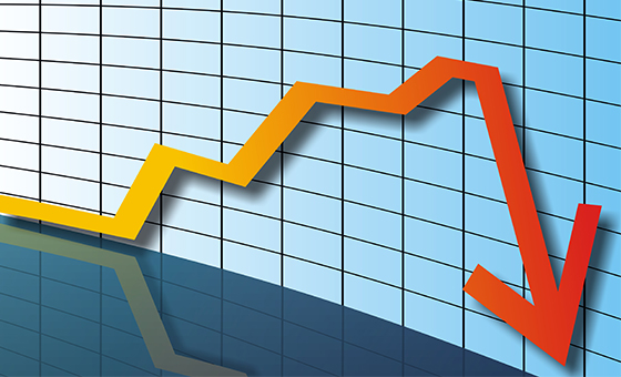 PIB do Brasil cai 0,2% no 1º trimestre, diz IBGE
