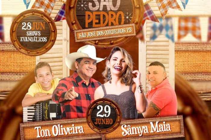Prefeitura de São José dos Cordeiros anuncia atrações do São Pedro