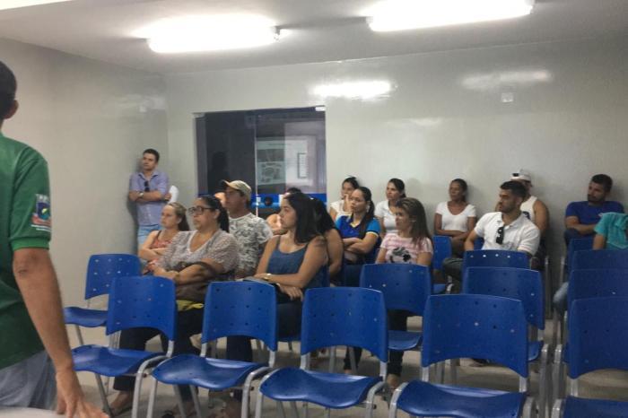 Vigilância Sanitária de Sumé orienta barraqueiros do Arraial Zé Marcolino para as festividades São João