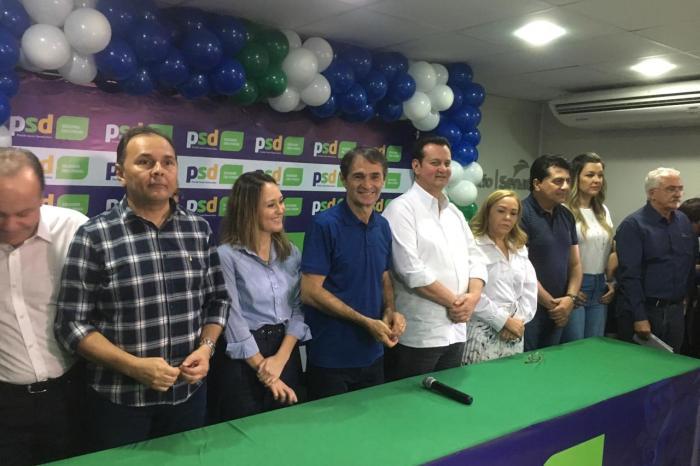 Kassab entrega solenemente o comando do PSD/PB a Romero