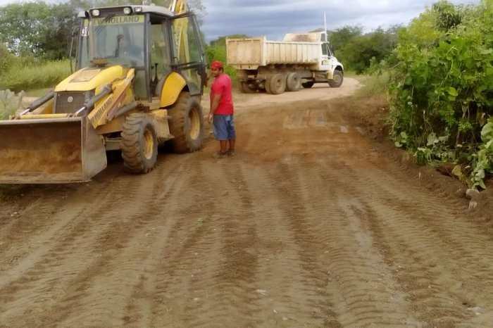 Secretaria de Agricultura de Monteiro continua realizando melhorias na zona rural