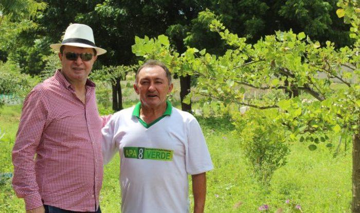 Deputado visita associação de proteção ambiental de Boqueirão e promete ajuda