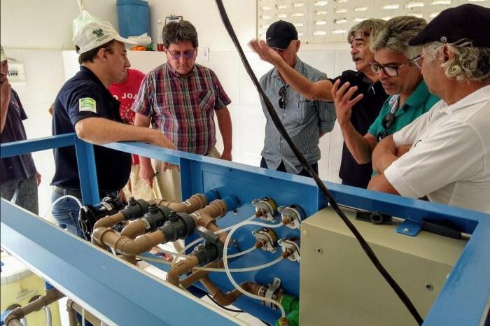 No Cariri: representante do Bird conhece sistemas de abastecimento d'água e dessalinizadores