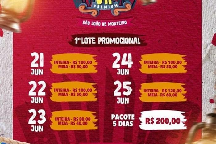 Área Vip Premium mostra novidades para o São João de Monteiro