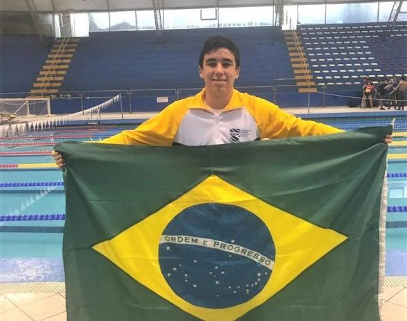 Paraibano conquista medalha na Copa Pacífico de Natação no Peru