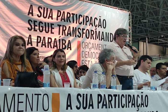 'Estamos firmes e fortes', diz João Azevedo ao lado de Ricardo