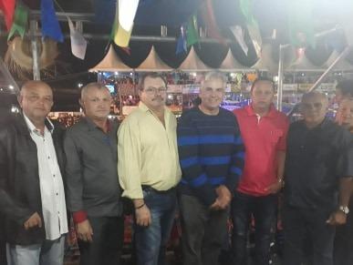 Vereadores prestigiaram festa e elogiam equipe de organização do São João de Monteiro