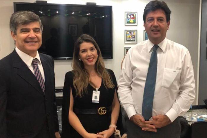 Prefeita de Monteiro cumpre extensa agenda em Brasília e reforça pedido para Centro de Hemodiálise