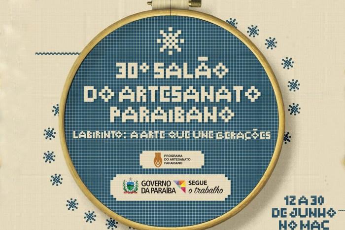 Governo lança 30ª edição do Salão de Artesanato da Paraíba