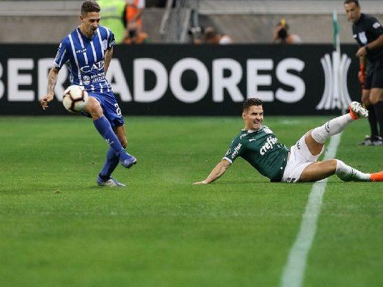 Palmeiras goleia Godoy Cruz e avança na Libertadores