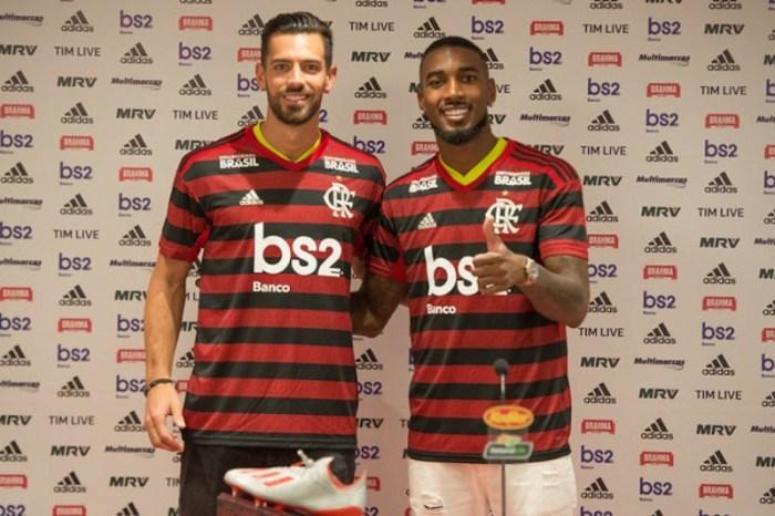 Flamengo apresenta Gerson e Pablo Marí para temporada