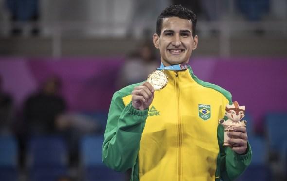 Pan-Americanos: paraibano conquista ouro no taekwondo