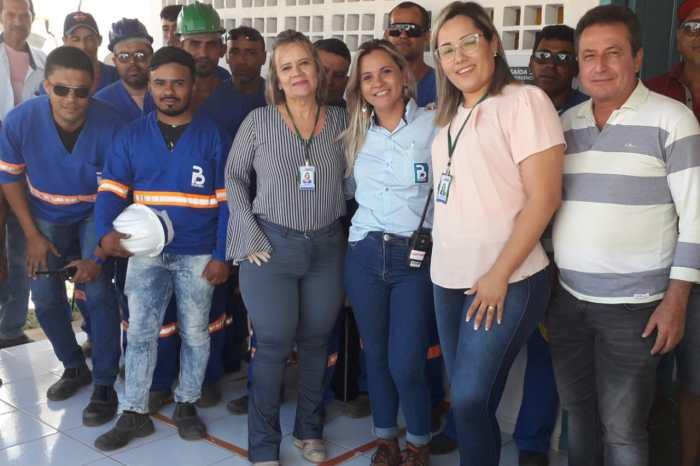 Prefeitura de Monteiro realiza ação de saúde para trabalhadores no Sítio Poções