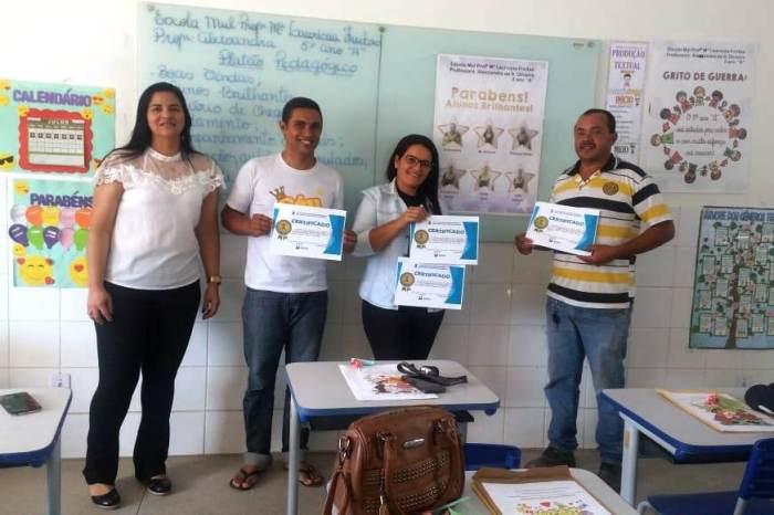 Pais e Alunos Nota 10 recebem reconhecimento nas escolas da Rede Municipal de Monteiro