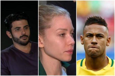 Polícia indicia Najila Trindade por extorsão contra Neymar
