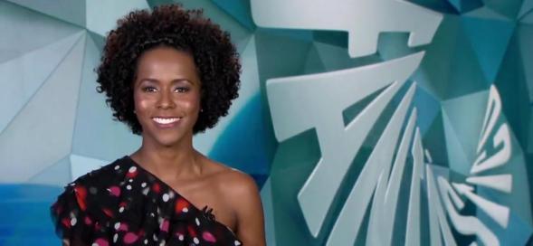 Maju Coutinho estreia no 'Fantástico'