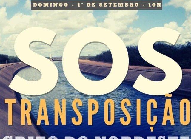 Lideranças do Cariri confirmam participação em ato em defesa da Transposição