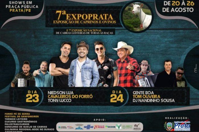7ª edição da ExpoPrata começa no próximo dia 20 com grandes atrações
