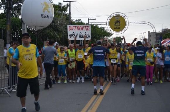 Esporte e solidariedade marcam 1ª Corrida da Apae em CG