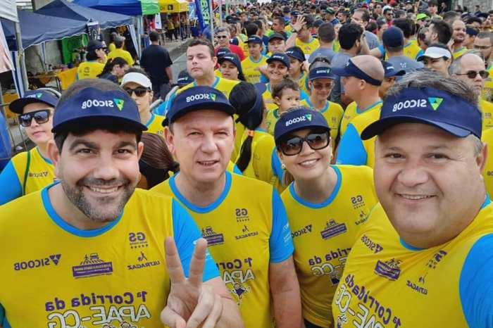 Prefeitos caririzeiros participam da 1ª Edição da Corrida da Apae, em Campina Grande