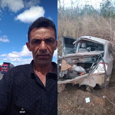 MOÍDOS DA REDAÇÃO: Monteirense morre vítima de acidente de carro em Minas Gerais