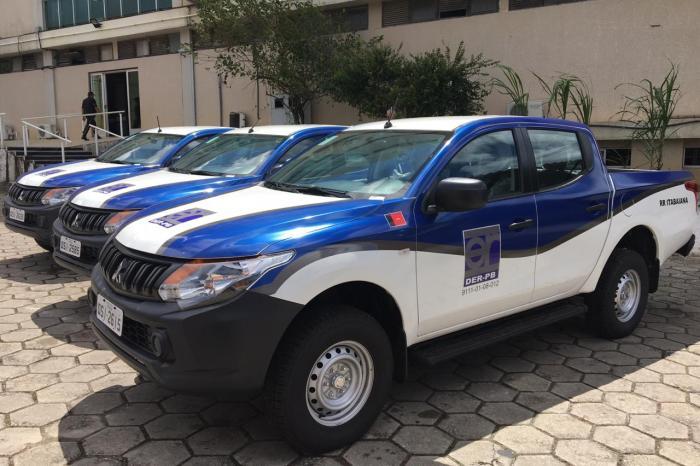 João entregará veículos ao DER para equipar residências rodoviárias de Sumé e mais sete cidades