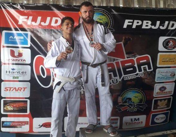 Atletas sãojoenses destacam-se e conquistam 5 medalhas no Open Paraíba de Jiu-Jitsu