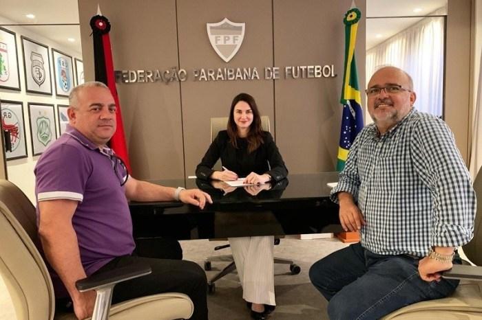 Dirigentes de Galo e Belo se reúnem com FPF antes do clássico