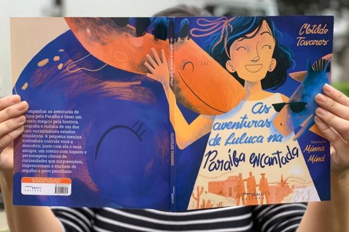 Livro infantil une realidade e fantasia para contar história da PB