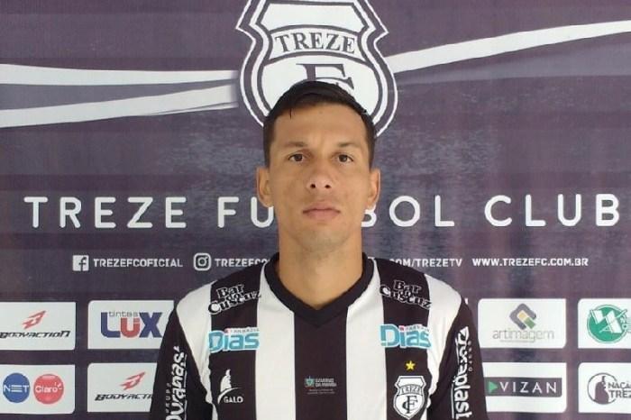 Treze anuncia zagueiro campeão pelo rival como 1ª contratação