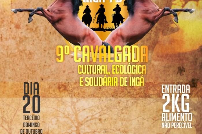 9ª Cavalgada Cultural, Ecológica e Solidária será realizada em Ingá
