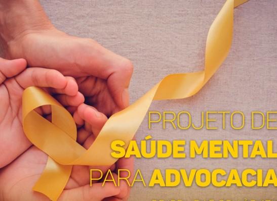 CAA-PB lançará projeto de Saúde Mental para a Advocacia