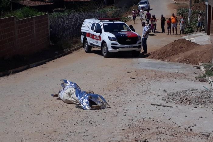 Violência: Pescador é assassinado com cerca de oito tiros na cidade de Sumé