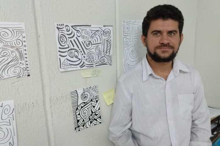 """Artista Edicarlos Araujo expõe """"O que você sente?"""" na capital"""