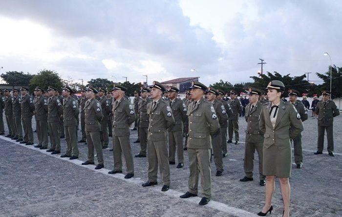 Paraíba ganha 45 novos sargentos da Polícia Militar
