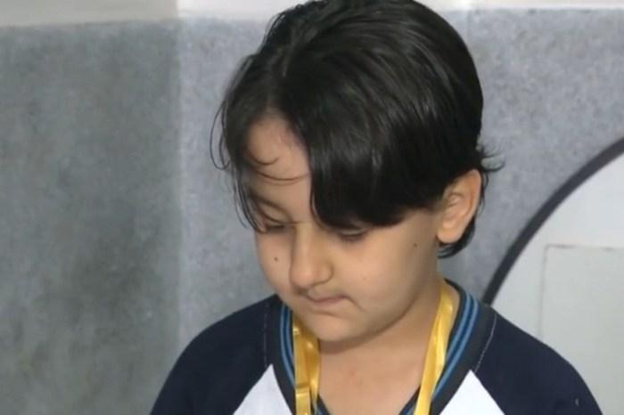 Paraibano de 9 anos leva ouro em olimpíada de robótica