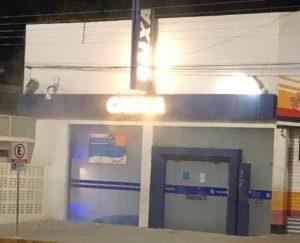 Sistema antifurto da Caixa Econômica de Monteiro é acionado e causa alvoroço em Monteiro