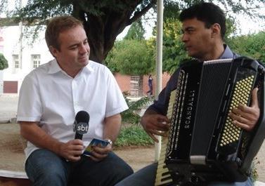 Em 2007, Gugu veio à Monteiro gravar sobre a história da Banda Magníficos