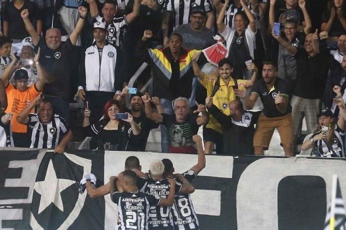 Botafogo ganha e respira contra o rebaixamento