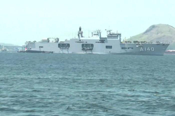 Marinha envia maiores navios para auxiliar no Nordeste